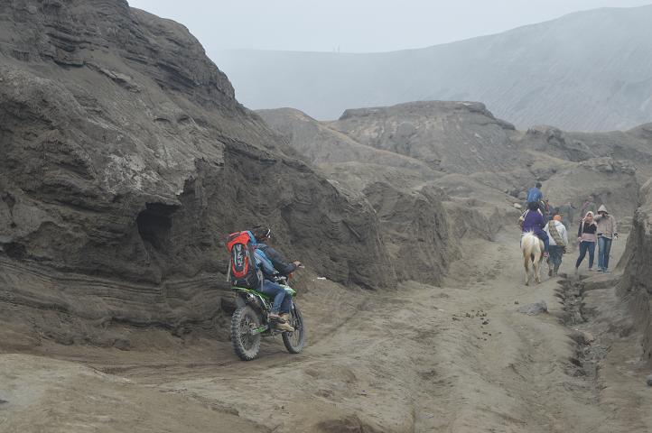 Trail di Gunung Bromo