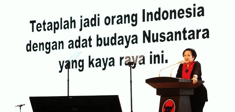 Ketua Umum PDI-P Megawati Soekarnoputri
