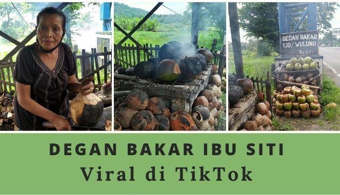 Degan bakar Ibu Siti