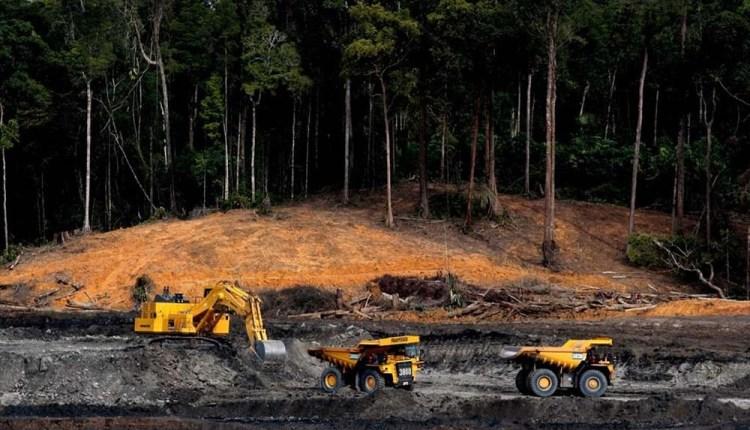 Aktivitas tambang nikel di Sulawesi Tengah | Foto Jatam Sulteng