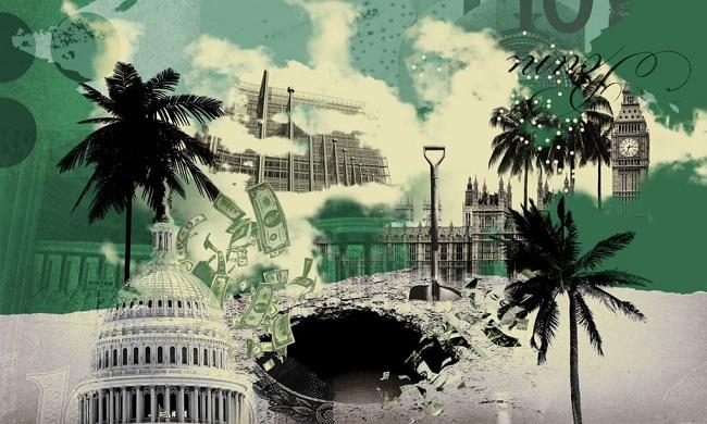 Ilustrasi surga pajak