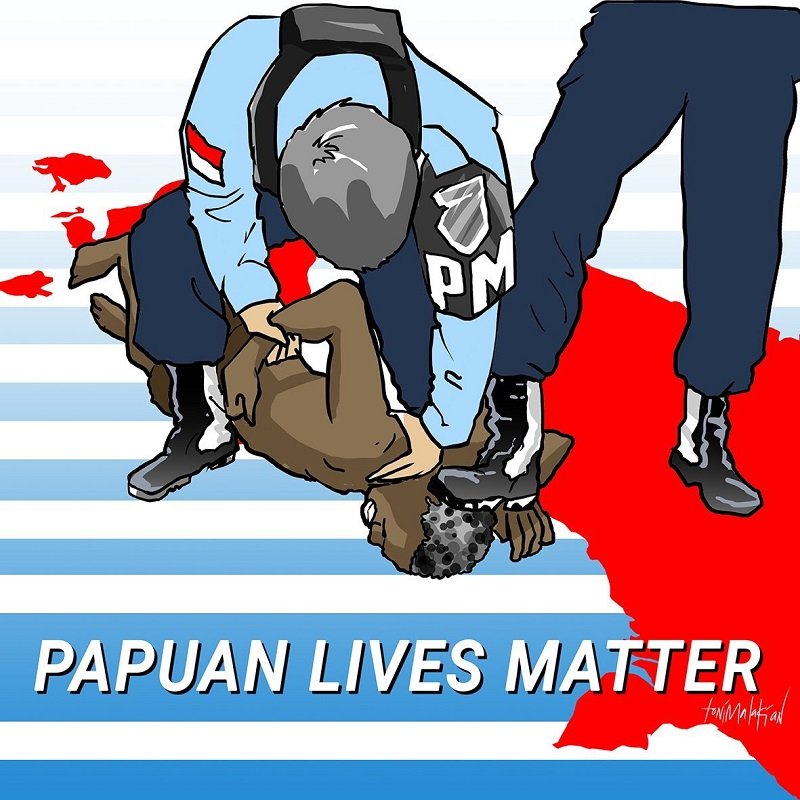 Korban difabel Papua
